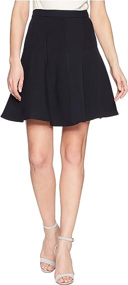 Ellen Tracy - Seamed Flare Skirt