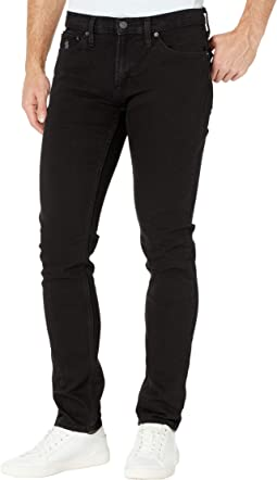Stretch Skinny Five-Pocket in Black
