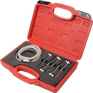 Fydun kit del misuratore di pressione della pompa del vuoto a tenuta automatica Kit del misuratore di vuoto tenuto Kit sintonizzatore prova spurgo freni e pompa del vuoto