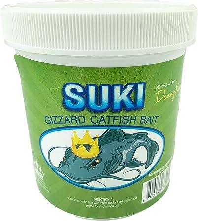 Suki Gizzard Catfish Bait