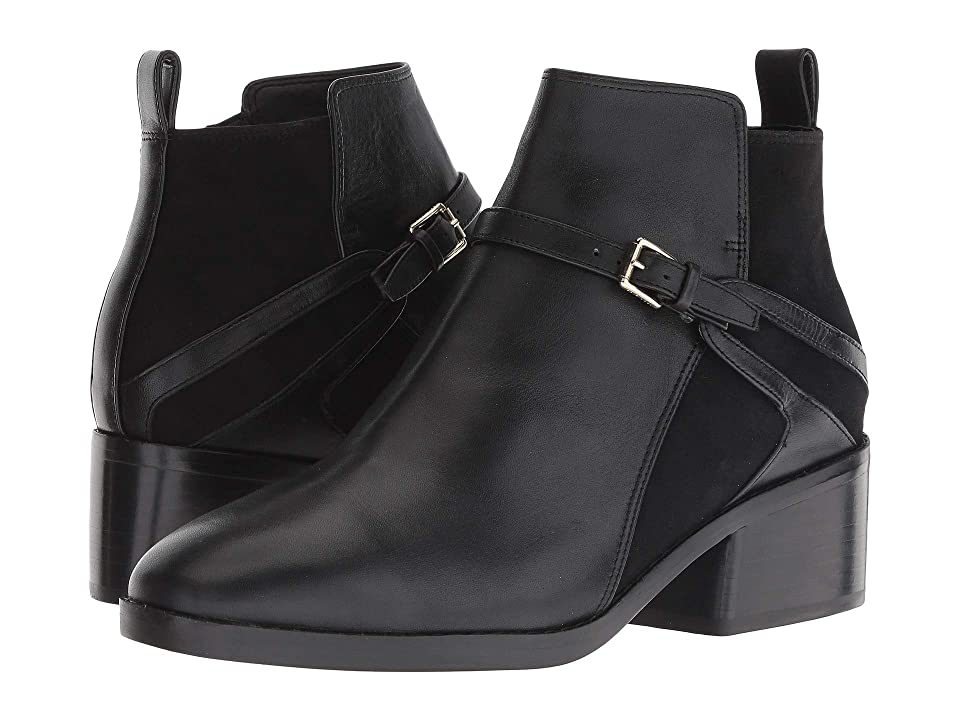 Cole Haan Etta Bootie (Black Leather) Women