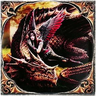 ANN STOKES Winged Companions Art Tile 4