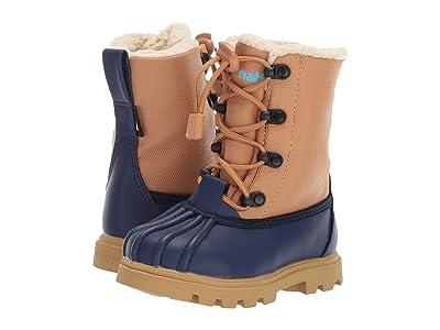 Native Kids Shoes Jimmy 3.0 Treklite (Toddler/Little Kid) (Regatta Blue/Quicksand Brown/Gum Rubber) Kids Shoes