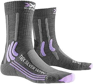 X-Socks, Trek Silver Woman Socks Calcetines de Senderismo Trekking Mujer Socks Calcetines Mujer