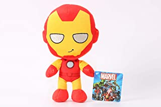 Marvel Plush Action Mini Iron Man, 7 inch