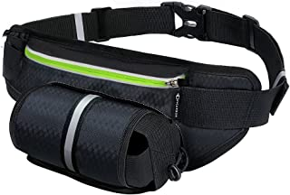 Fanny Pack MYCARBON Waist Pack with Water Bottle Holder,Waterproof Running Belt for Men..