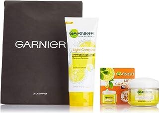 Garnier Light Complete Serum Cream Spf 40, 45 G + Light Complete Face Wash 100 G, 163 g (Pack of 2)