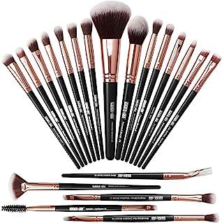 Make-up kwasten 20-delige make-up kwastenset Professionele make-up kwasten Premium synthetische foundationkwast Travel Sof...