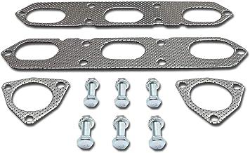 DNA Motoring GKTSET-PDF-986 Aluminum Exhaust Manifold Header Gasket Set Replacement
