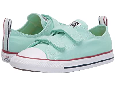 Converse Kids Chuck Taylor(r) All Star(r) 2V Seasonal Ox (Infant/Toddler) (Ocean Mint/White/Ocean Mint) Kids Shoes