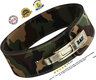 RAD Weight Lifting Belts Powerlifting and Weightlifting Belt with Lever Buckle, 10mm