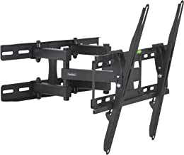 """VonHaus 23-56"""" Double Arm Tilt & Swivel TV Wall Mount Bracket with Built-In Spirit Level for LED, LCD, 3D, Curved, Plasma, Flat Screen Televisions - Super Strong 45kg Weight Capacity"""