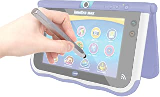 DURAGADGET Silver Aluminium 'Crayon' Style Touchscreen Stylus Pen with Capacitive Rubber Tip Compatible with Vtech InnoTab Max 7 Kids Tablet (2014 Release)