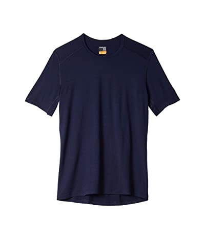 Icebreaker Oasis Short Sleeve Crewe (Midnight Navy) Men