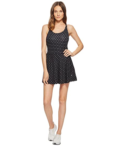 Kate Spade New York Athleisure Polka Dot Scallop Dress