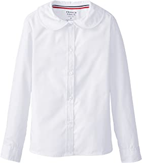 French Toast Girls' Long Sleeve Peter Pan Blouse