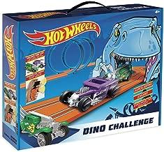 Hot Wheels- Dino Challenge Circuito Slot, Multicolor (Fábrica de Juguetes 91008)