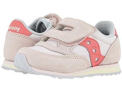 Saucony Kids Originals Jazz Hook Loop (Toddler/Little Kid) (Pink) Girls Shoes