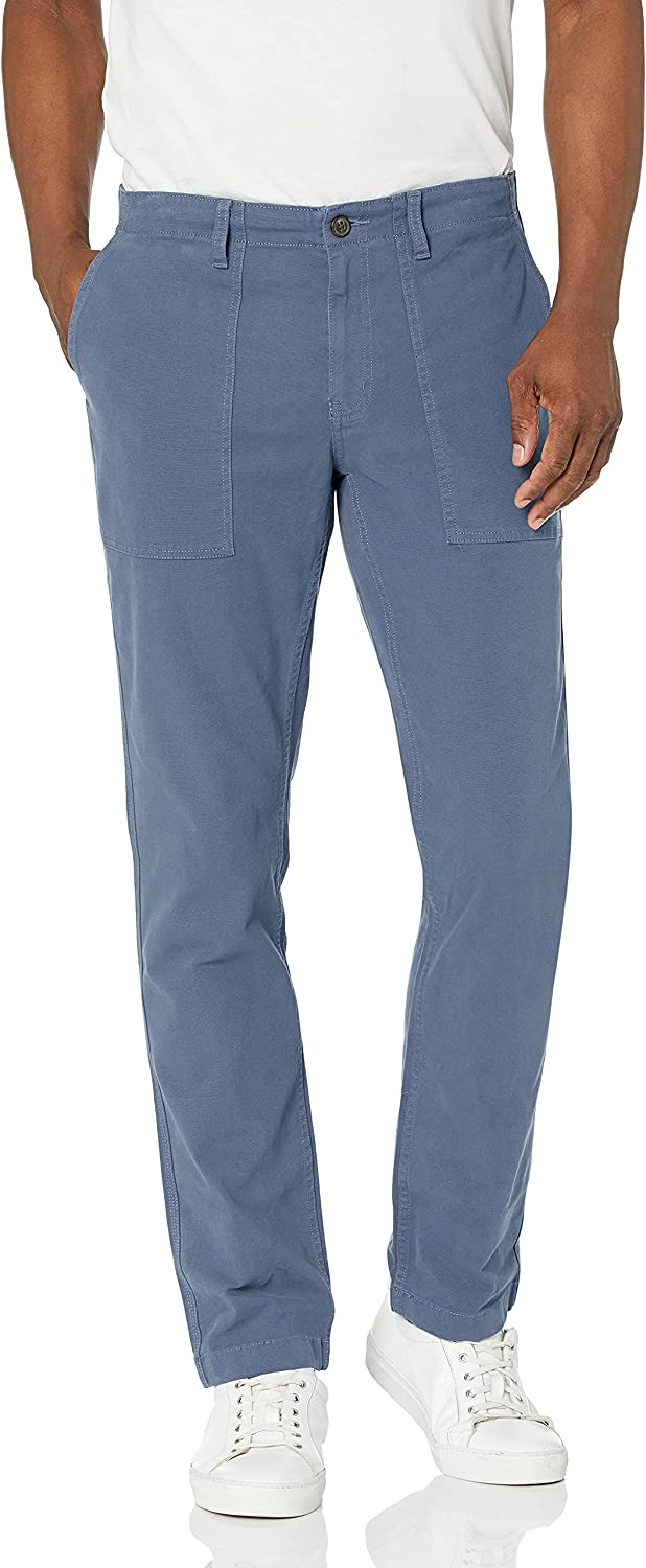 Goodthreads Men's free Slim-Fit Stretch Utility Canvas Ranking TOP5 Pant