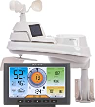 AcuRite 01540M 5-in-1 Weather Station with Wi-Fi Connection to Weather Underground,Black