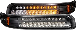 Anzo USA 511077 Chrome LED Parking Light with Amber Reflector for Toyota Fj Cruiser