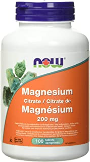 Magnesium Citrate - 200 mg - 100 tablets - ZIN: 405117
