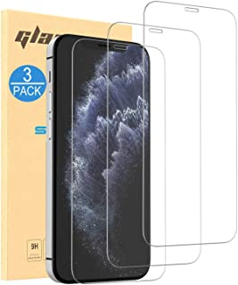 CASEON 3-Pack Screen Protector iPhone 12 Pro Max Tempered Glass Film - Ultra HD Crystal Clear (for iPhone 12 Pro Max)
