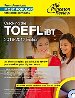 Cracking The Toefl Ibt With Audio Cd, 2016-2017 Edition