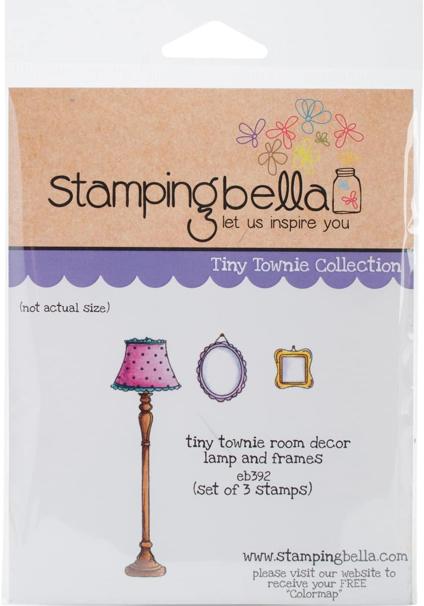 Stamping Bella Cling Stamp 6.5 Townie 4.5-inch-Tiny Popular Ranking TOP4 standard Room Decor x