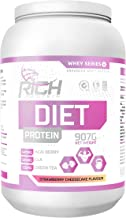 Rich Protein 1 kg Strawberry Cheesecake Female Diet Protein Estimated Price : £ 19,99