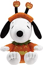 Hallmark Snoopy Stuffed Animal in Pumpkin Costume
