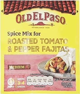 Old El Paso Spice Mix for Roasted Tomato & Pepper Fajitas, 30 g
