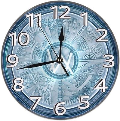 掛け時計 壁掛け時計 アナログ クロック インテリア 円形 サイレント ビンテージ Alan Walker 印刷 掛置兼用 デジタル プレゼントオススメ 店舗 家用 直径25cm 部屋装飾