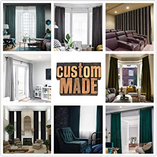 Frelement Custom-Made Velvet Curtains Birkin Collection, Pricing Adjuster for Heading and Size