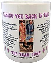 1968 Coffee Mug Featuring -1968 Year in History