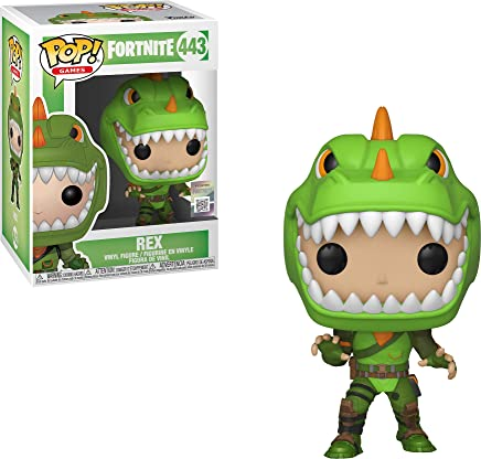 Funko- Pop Figura de Vinilo Rex Fortnite, (34957)