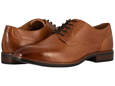 Nunn Bush Fifth Ave Plain Toe (Cognac) Men