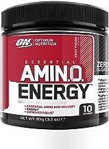 Optimum Nutrition Amino Energy Pre Workout Powder Keto Friendly with Beta Alanine Caffeine Amino Acids and Vitamin C Fruit Fusion 10 Servings 90 g