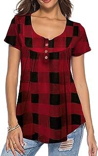 Best ladies short sleeved blouses Reviews