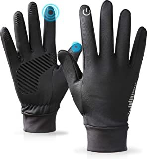 PERSIST Winter Warm Gloves for Men and Women Touchscreen Thermal Anti-Slip Windproof Womens Gloves for Running