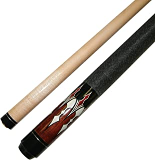 """Short 42"""" 2 Piece Hardwood Maple Pool Cue - Billiard Stick Several Colors To Choose From 16 - 17 Ounce"""
