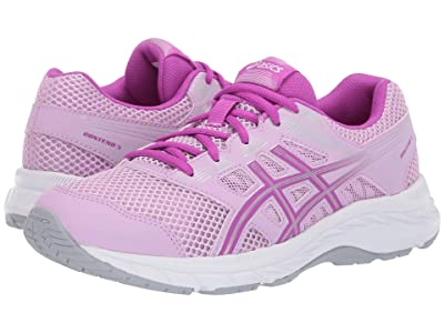 ASICS Kids Gel-Contend 5 GS (Big Kid) (Astral/Orchid) Girls Shoes