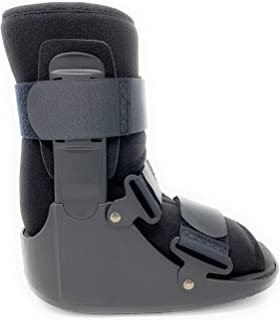 Superior Braces Low Top, Non-Air, Low Profile Medical Orthopedic Walker Boot for Ankle & Foot Injuries (Medium)