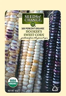 Seeds Of Change 1018 Certified Organic Hookers Sweet Corn