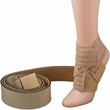 Rolyan Lower Extremity TAP Splint, Tone and Positioning Band for Correcting Gaits, Hypotonicity, Hypertonicity, Lower Body Weakness, MS, or Paralysis, Youth A, Invert Right Foot, Evert Left Foot