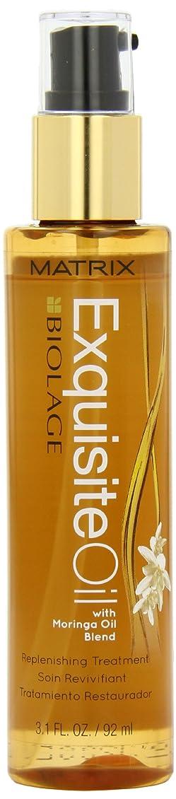 トレースピクニック防衛マトリックス Biolage ExquisiteOil Moringa Oil Blend Protective Treatment (All Hair Types) 92ml/3.1oz並行輸入品