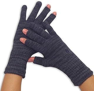 [841(ヤヨイ)] ハンドウォーマー 3フィンガー スマホ 手袋 指なし 3本指 綿 日本製