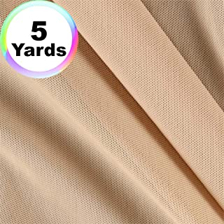 Power Mesh Fabric | 5 Yards Continuous | 60