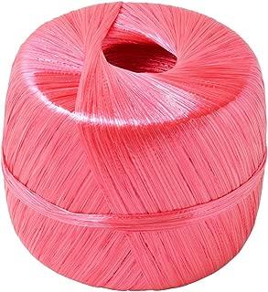 新潟エースロープ ダイヤテープ(玉巻テープ) 300m 赤