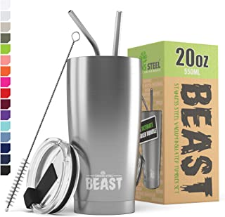 Greens Steel Beast 20oz Stainless Steel Tumbler Vacuum Insulated Coffee Cup Double Wall..